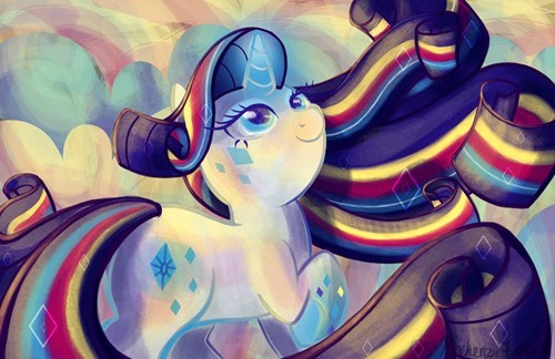 Fan Art rarity rainbow power