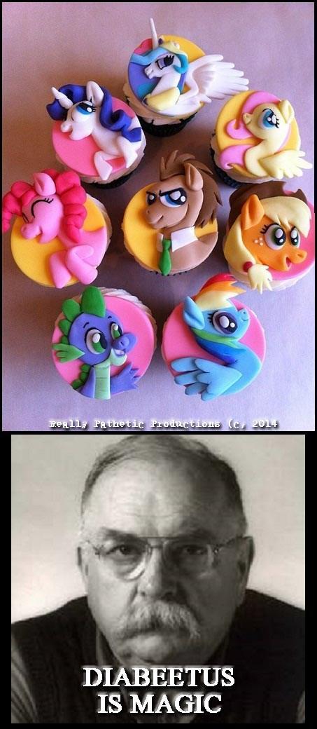 MLP cupcakes diabeetus - 8251192064