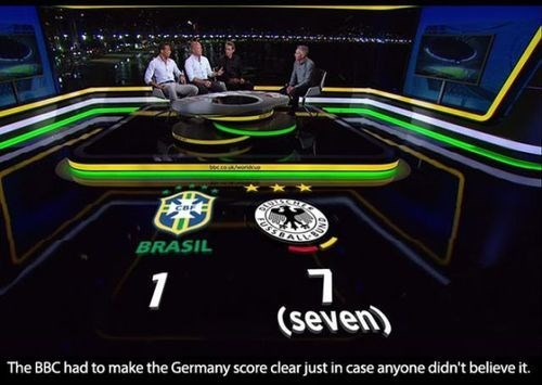 bbc brazil Germany soccer world cup - 8251247872