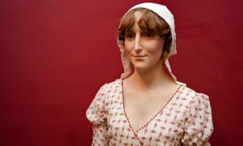 literature history wax statue forensic science jane austen - 8251347712