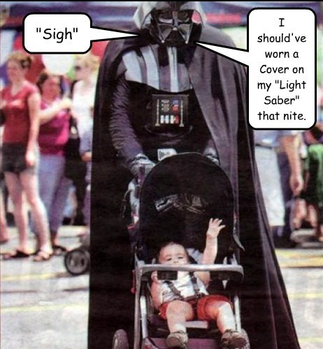 darth vader funny light saber star wars parenting - 8251663104