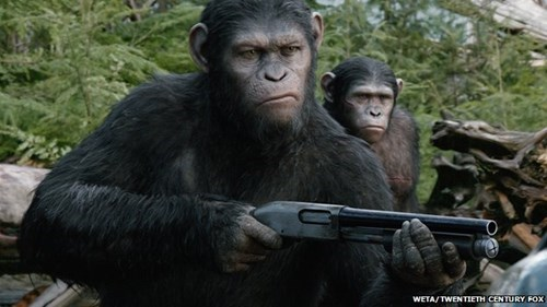 Planet of the Apes movies apes science animals - 8252094720