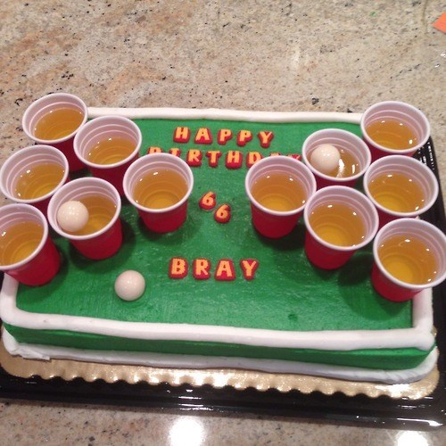 cake beer awesome funny - 8252239872