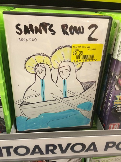 saints row 2 cover art video games - 8252303360