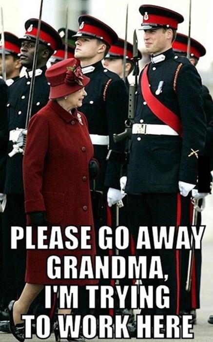 Queen Elizabeth II prince william funny - 8252303872