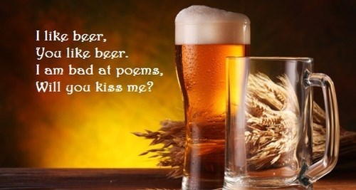 beer poem quote funny - 8252304896