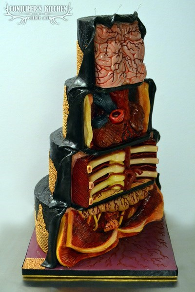 Why Eat Brains When You Could Eat This Amazing Cake?