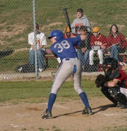 poorly dressed pants baseball split - 8252309504