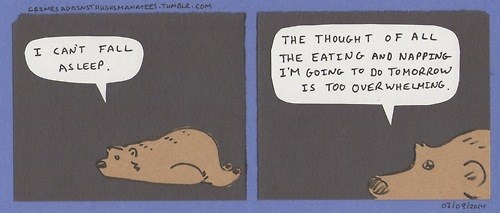 bears,existentialism,web comics