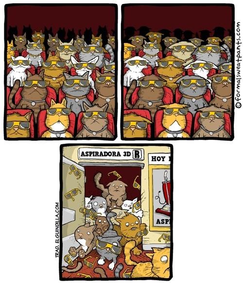 animales viñetas gatos bromas - 8252369152
