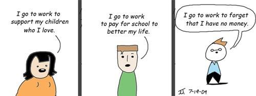 sad but true in this economy work web comics - 8252377344