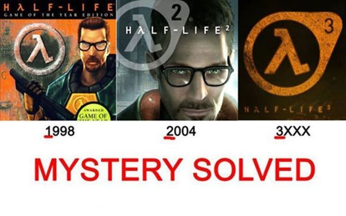 half life,video games,valve,half-life 3 confirmed