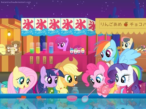 MLP mane 6 epcot center - 8252463872