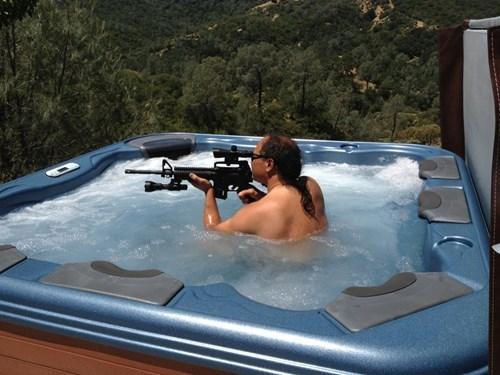 guns hot tubs - 8252696320