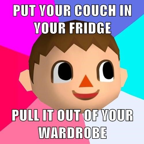 animal crossing,video game logic