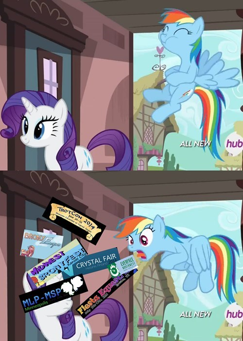conventions,rainbow dash