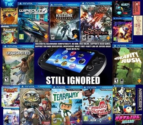 Sony handhelds bad luck ps vita - 8254269440