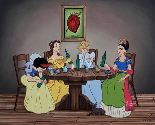 art drunk funny frida callow - 8254692096