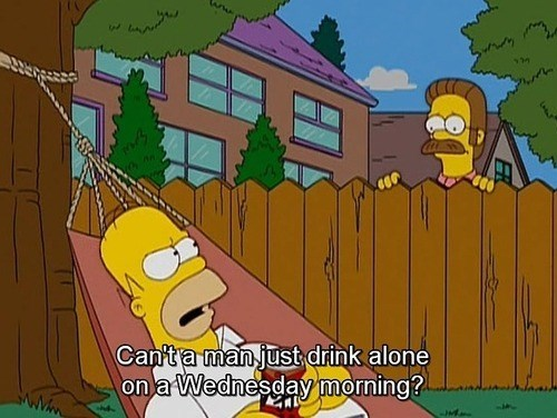 booze drunk funny the simpsons - 8254700544