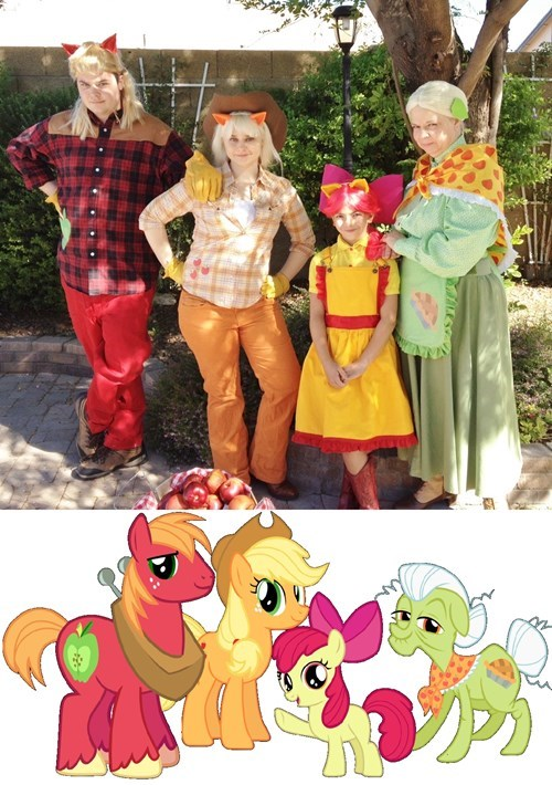 Apple Family cosplay - 8255121408