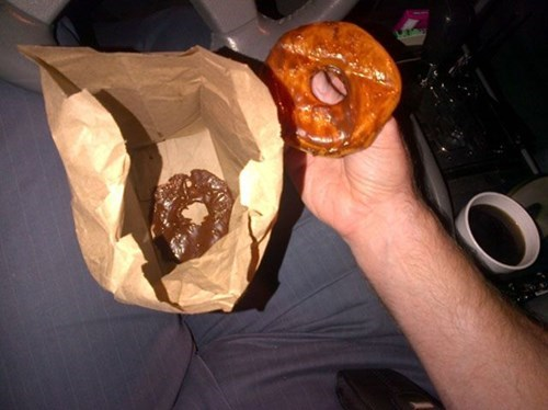 FAIL donuts monday thru friday doughnuts work g rated - 8255256576