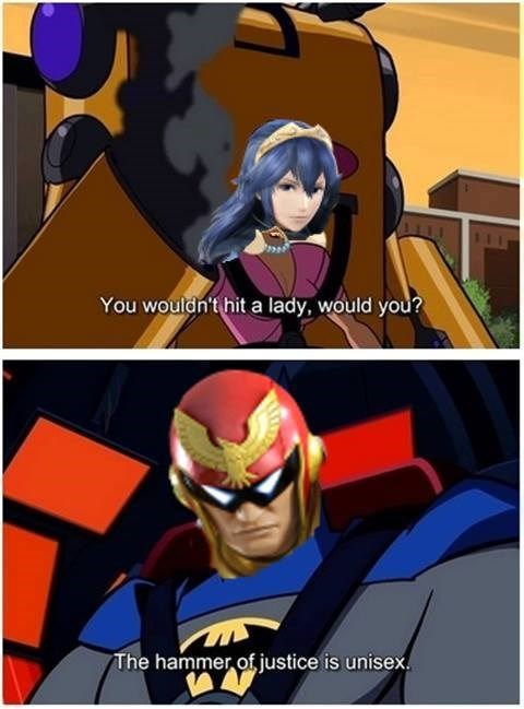 captain falcon,super smash bros,lucina