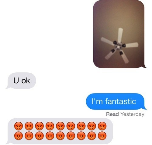 fan,puns,texting