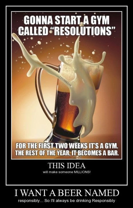 beer funny resolutions - 8255411968
