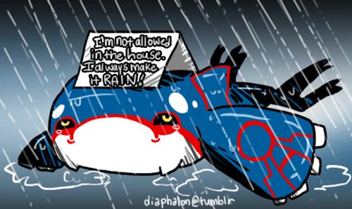 Cartoon - Emnotallowe inthe house TalwaySmake RAIN! diaphalon @tumblir