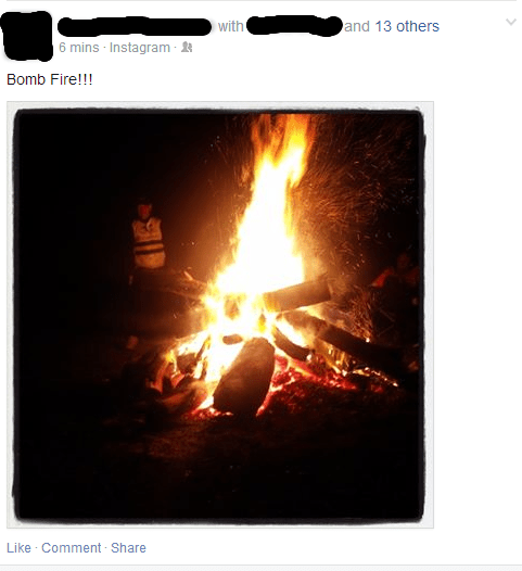 camping,fire,spelling