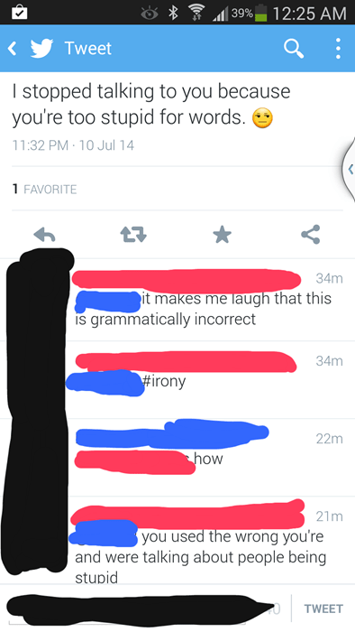 grammar irony spelling - 8255586048