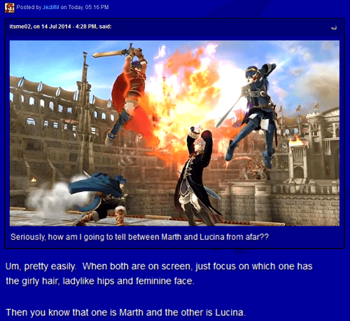 super smash bros,fire emblem,lucina,marth,burn