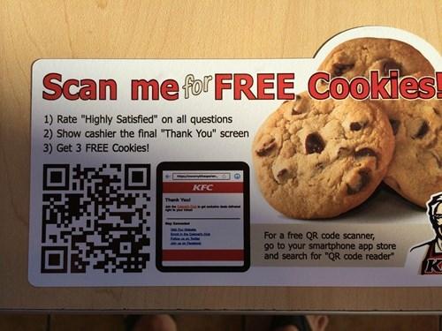 kfc cookies - 8255811072