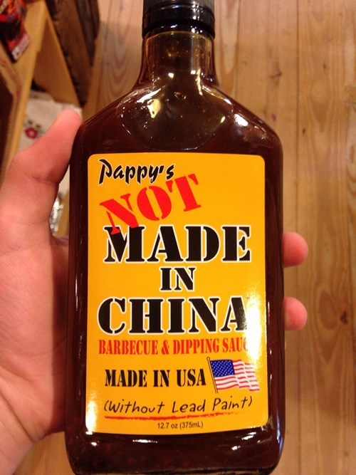 not made in china barbecue sauce made in china bbq - 8255841536