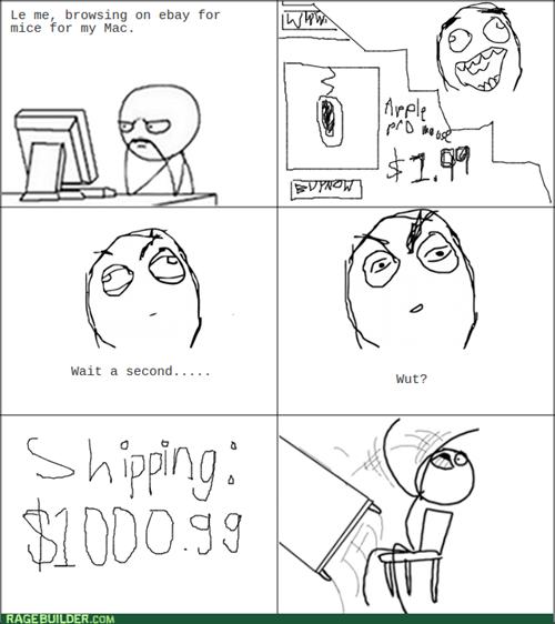 shipping table flipping ebay