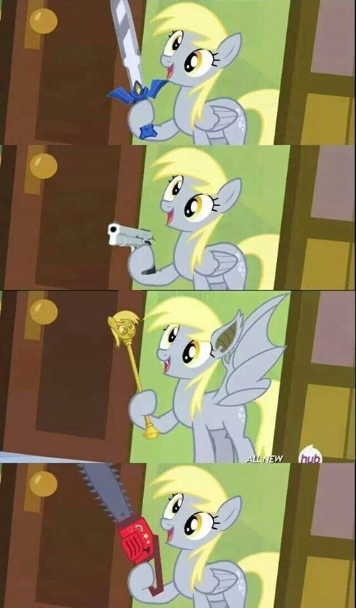 derpy hooves,weapons