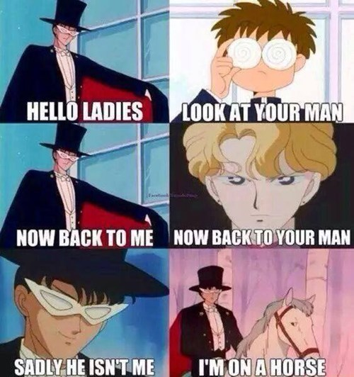 anime,sailor moon,tuxedo mask