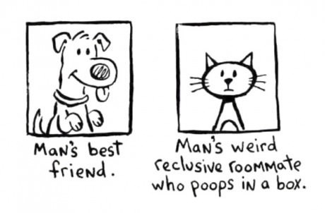 dogs roommates Cats web comics - 8256306944