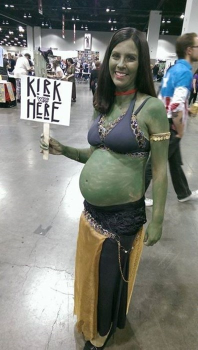 cosplay clever Star Trek pregnant funny - 8256358912