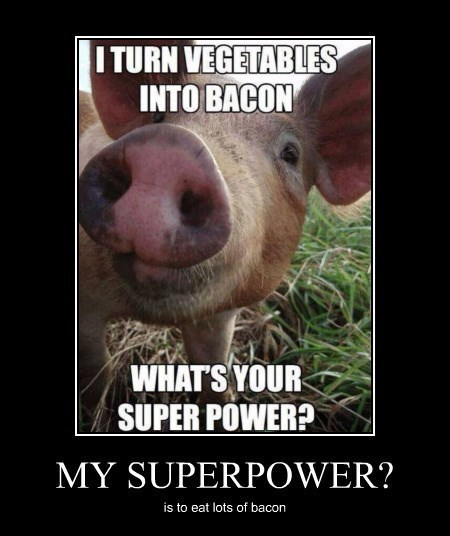 vegetables,pig,funny,bacon