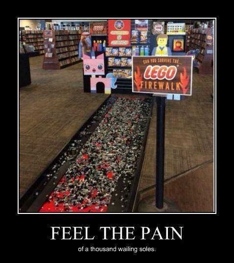 lego,feet,walking,funny