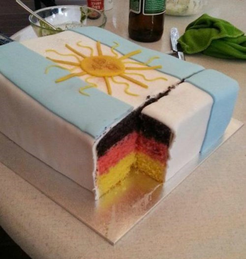 argentina cake Germany soccer world cup - 8256488704