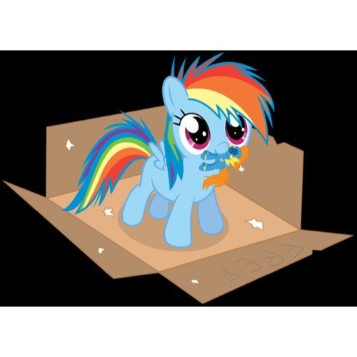 squee,rainbow dash