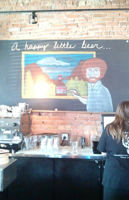 beer bob ross funny pub after 12 g rated - 8256519168
