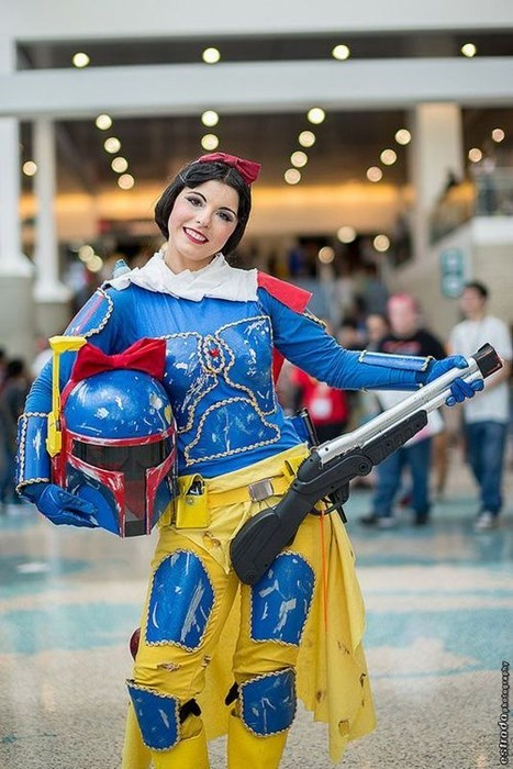 boba fett,cosplay,disney,snow white