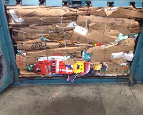 cardboard,lego movie,lego,monday thru friday,recycling,minifigs,g rated