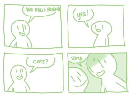 Cats dogs web comics - 8256581888