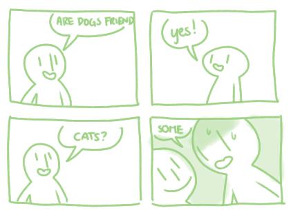 Cats dogs web comics - 8256581888