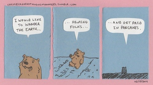 critters,bear,web comics