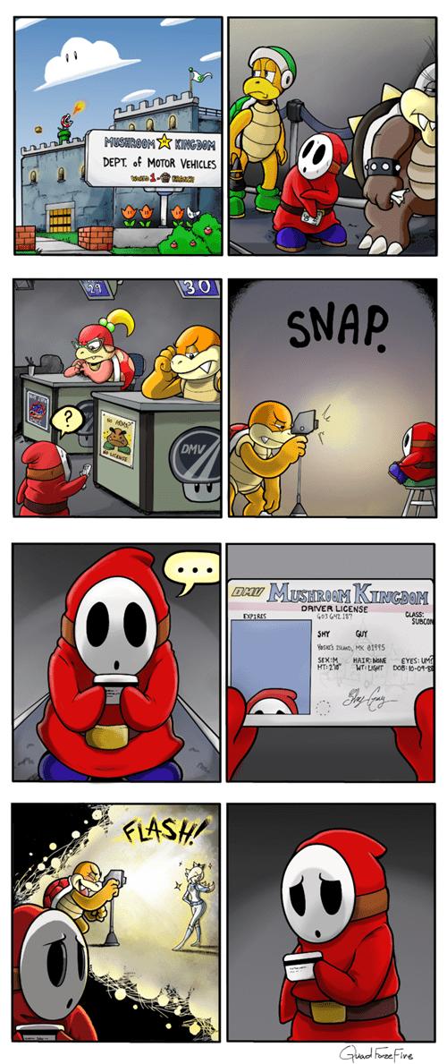 Mario Kart,web comics,mario kart 8